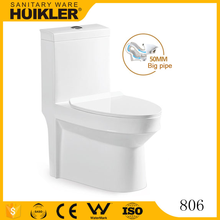 A-806 Beautiful and graceful ceramic sanitary ware toilet product, dry cera wc toilet
