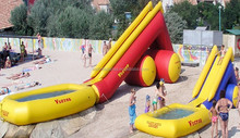 2014 commercial grade inflatable water slide with pool