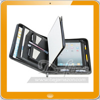Business Carrying Portfolio Case with Zipper Closure for iPad Air