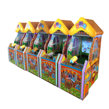 wood frame material shooting water new arcade amusement