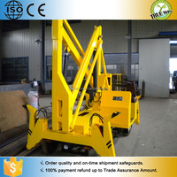 200kg, Chinese newest hydraulic mounted truck lift platform / Aerial working electrical man crank lift