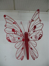 beautiful butterfly metal wall sculpture