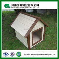 easy installation high quality healthy wood plastic composite outdoor pet house