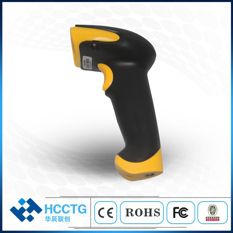 Price Checker Cmos Long Range Handheld POS Cheapest 2D Wireless QR Code Scanner HS-6410