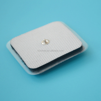 CE and FDA approved snap button electrode body massage electrode