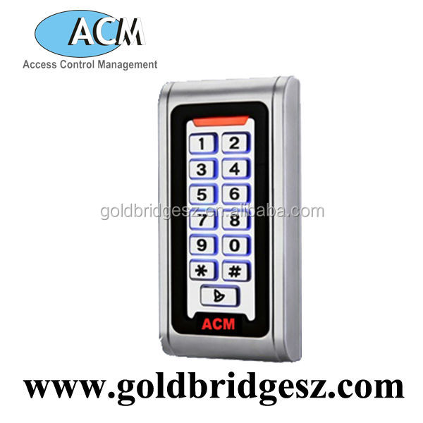 IP68 Waterproof Metal Standalone Access Control System With Keypad
