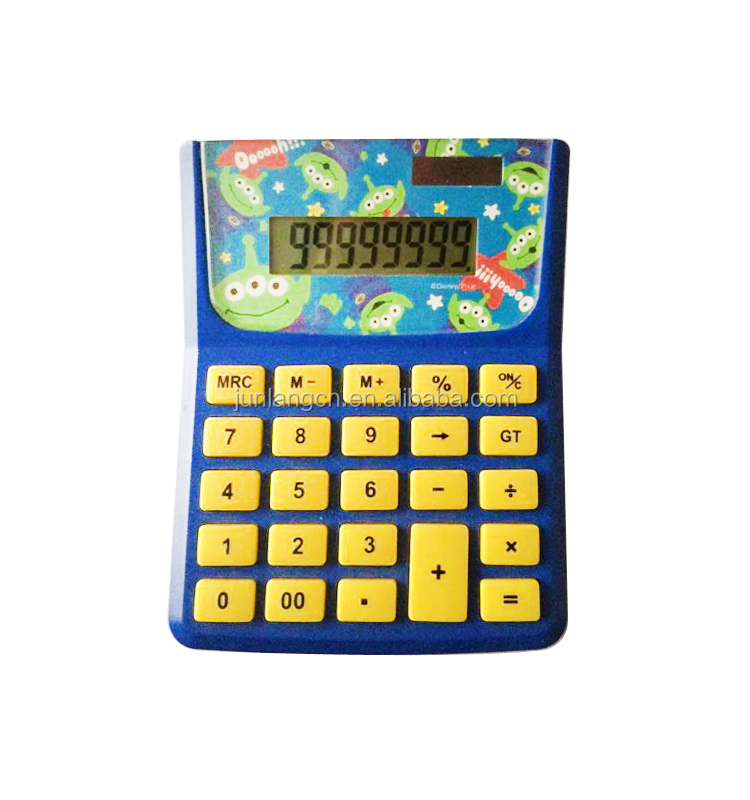 desk top calculator 8 digit electronic two power way calculator promotional gift calculator