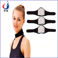 Tourmaline pain relief self heating magnetic traction neck brace neck support belt