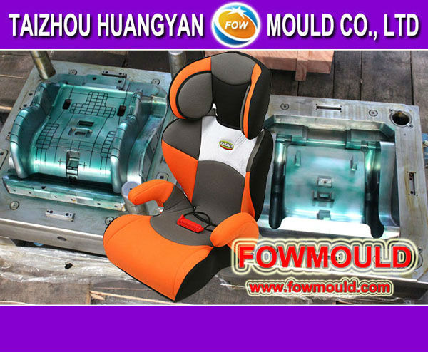 plastic injection OEM custom baby car seat mold