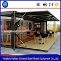 Container hotel room,mobile container rooms, modular house prefabricated sandwich panel antirust container house