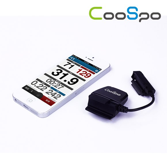 CooSpo Digital Bluetooth Speed Meter For Bike Train