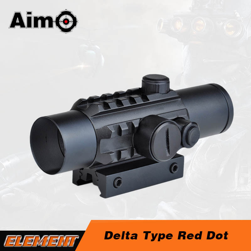 Aim-O Delta Type Red Dot For Airsoft Air Guns Hunting Rifle scope AO3017