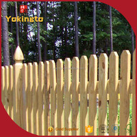 temporary cheap wooden fence pannels