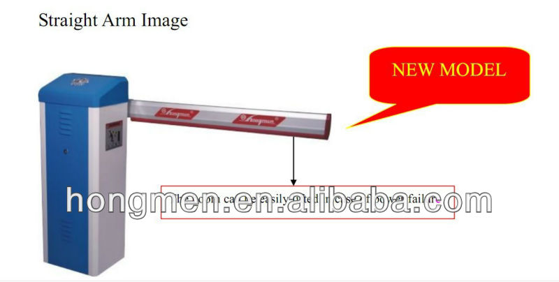 Remote control automatic parking barrier made in China