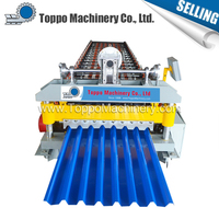 Great building material High speed Superior quality deck roof machine