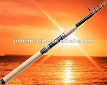 60% carbon telescopic fishing rods