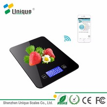 Unique Precision Household Electronic Digital Food Diet Weight Nutrition Cheap Bluetooth Kitchen Scale