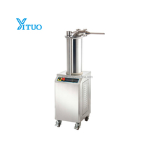 commercial sausage making stuffing machine electric sausage meat extruder