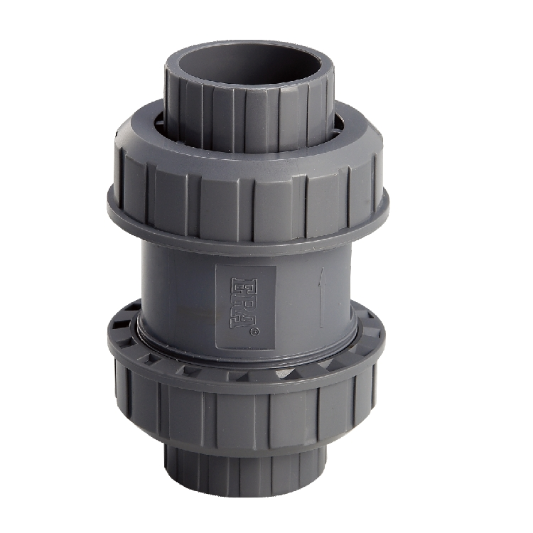ERA Good Quality Water Supply True Union PVC Ball Check Valve