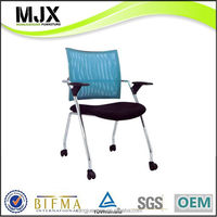 Alibaba china Cheapest meeting office chair without wheel