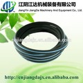 Recycled rubber micro bubble diffuser porous pipe