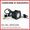 IP68 10W moving head led work light for 4wd rav4 military car