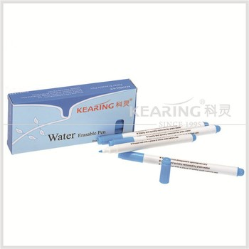 Kearing brand Pen For Embroidery Water Erasable Pen ,pen with water inside,water erasable marker pen#WB10