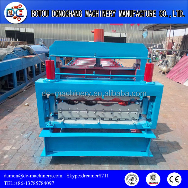 double decking glazing roll forming machinery for sale hebei botou