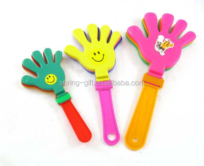 Plastic Noise Maker Party Cheering hand clapper