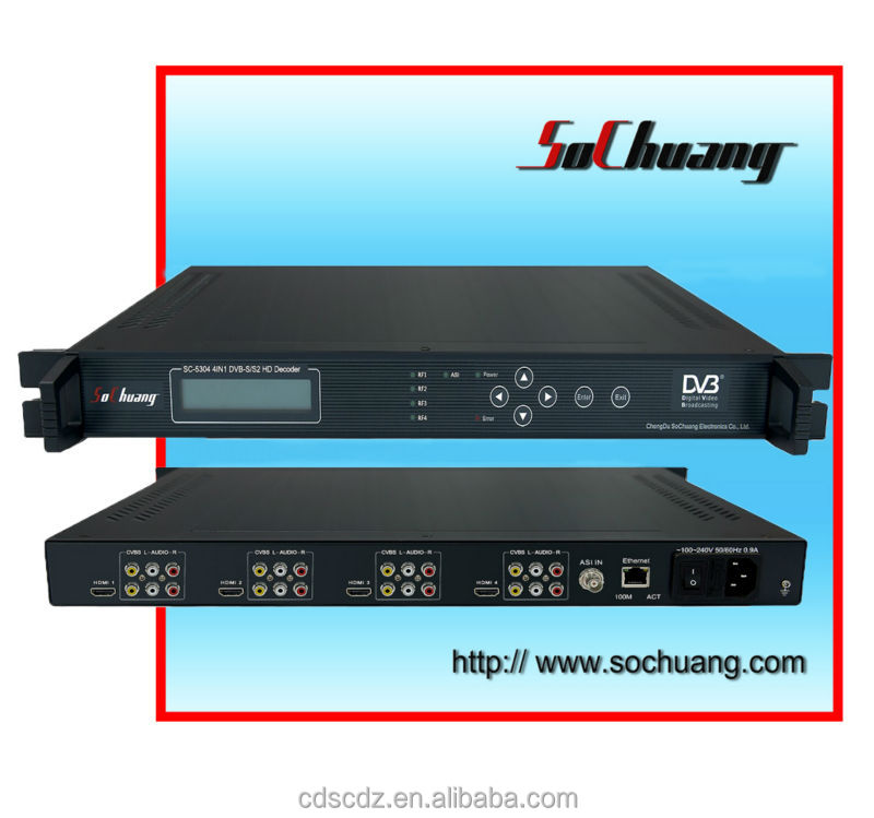 h.264 hdmidecoder dvb-s/s2/ hdmi video decoder