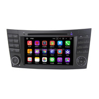 factory OEM dashboard 2 din touch screen car stereo android 7.1.2 car dvd, for mercedes benz w211#