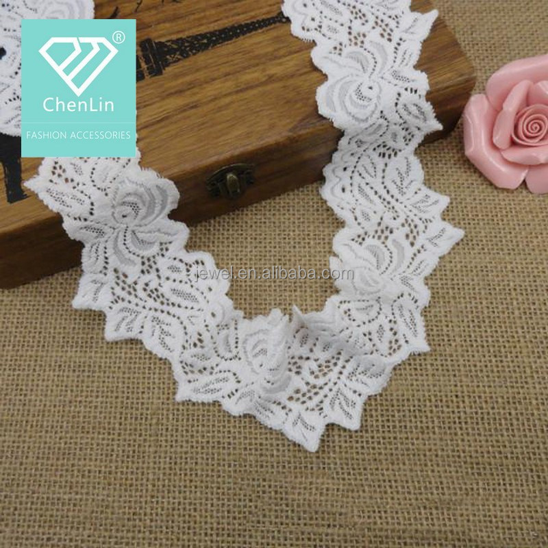 New Cotton Lace Collar Mesh Trimming Motif For Neckline Decoration