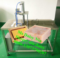 commercial soap base cutting machine/ellipse soap block cutter/soap bar cutting machine
