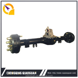 Chongqing Qiaoguan 800w motor power Electric rear axle for Tricycle