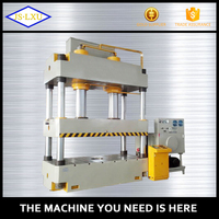 China made hydraulic press steel punching machine for rubber and plastic