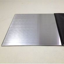 Cold rolled aisi 304 2B finished stainless steel inox plate