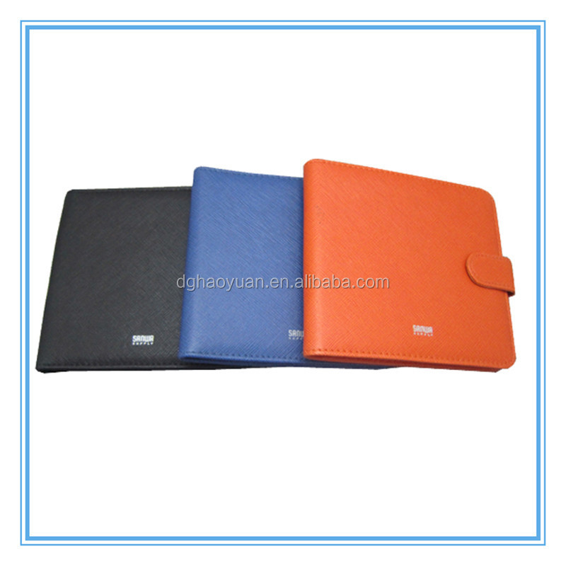New design PU leather CD case