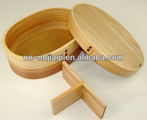 New tableware bamboo lunch box,Kitchenware Color Roung Wholesale Bamboo Lunch Box(hot selling)