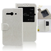 Hot!!!! view mobile phone flip leather case for lenovo s920 cover