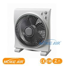 portable electrical box fan 3 Speeds 5 blades Air Cooling Box fan with CE certificate