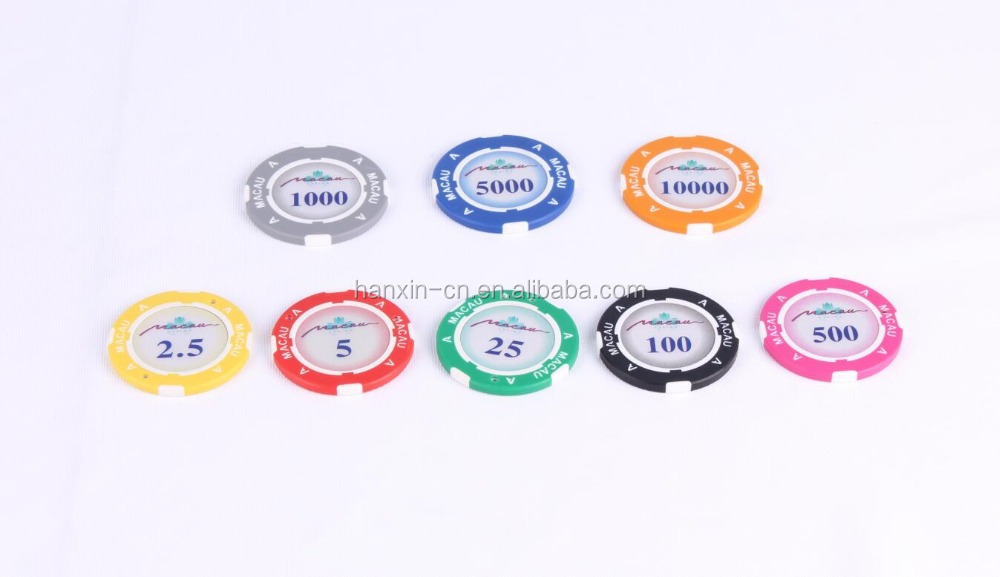 Manufacturer custom made metal poker chips Texas holdem casino poker chips