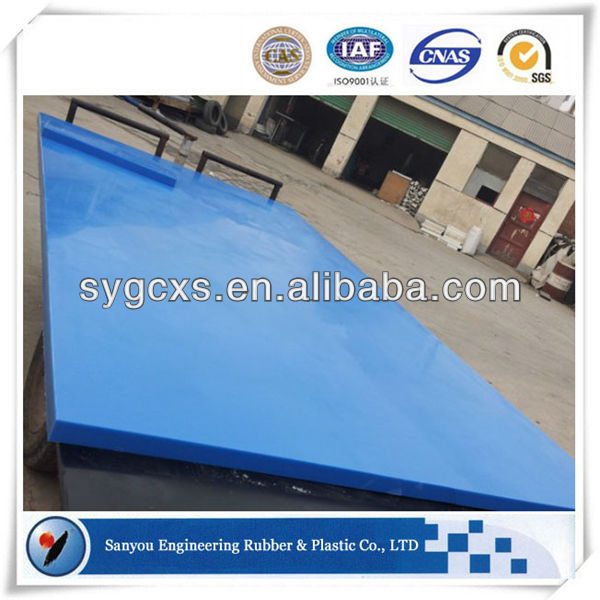 Wear resistant polyethylene uhmw plastic poly sheeting
