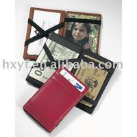 China Wholesale Hot Selling Black Men PU Leather Magic Wallet