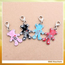Alloy Crystal Bear Shaped Pet Dog Tag PT 013