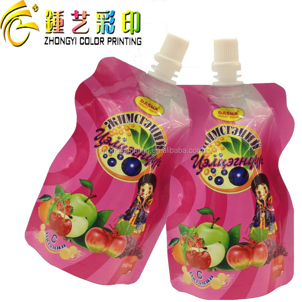 SHANTOU Zhongyi Printing Special shape food packaging bag with QS/OEM certification