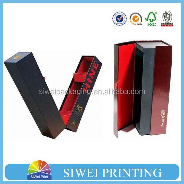 custom foldable luxury cardboard white paper gift box china trade assurance seller wine gift box wholesale