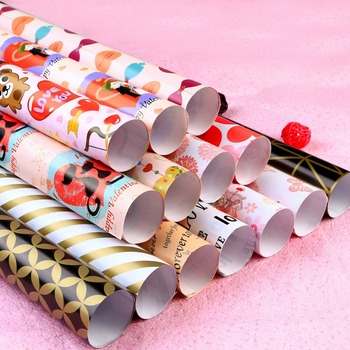 Gift wrapping paper gift wrapping paper direct from hokai yifu co wrapping 80gsm art paper for wrapping flowers gifts cloths gift wrapping paper single sheet wholesale mightylinksfo