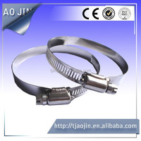 American style brake hose clips/high pressure flexible hose/stainless steel hose clamps