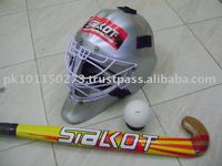 COMPOSITE FIELD HOCKEY STICK WITH HELMET
