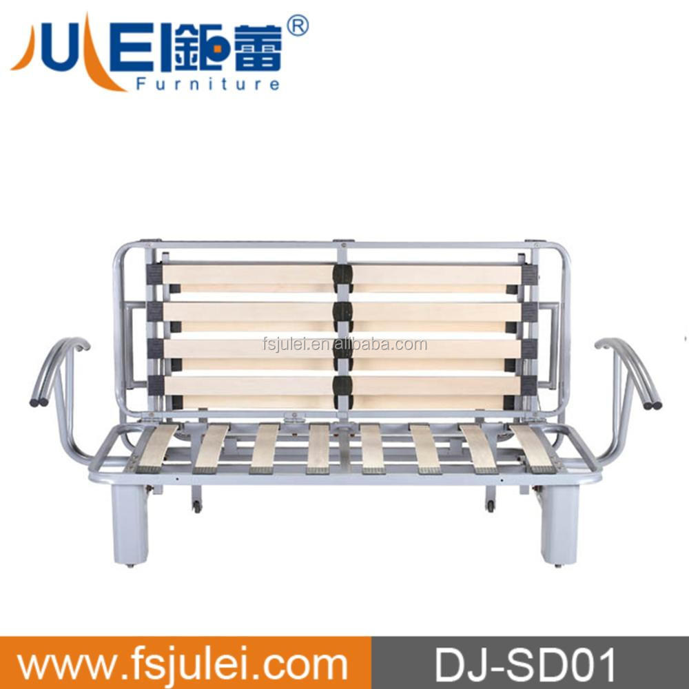 tri-fold metal sofa bed frame reclining sofa mechanism sofa base DJ-SD01